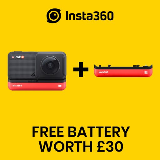 best360 insta360 one r promo code free battery
